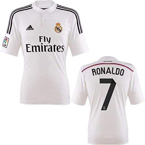 Amazon Com Cristiano Ronaldo Jersey Real Madrid Home Jersey 2014 2015 M Clothing