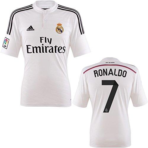 best loved cbbb6 bd6b2 Amazon.com : Cristiano Ronaldo jersey, Real Madrid home ...