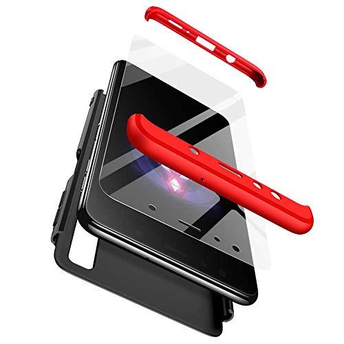 Samsung Galaxy A7 2018 Funda,cmdkd Samsung Galaxy A7 2018 Case Bumper 3 en 1 Estructura 360 Grados Integral Para Ambas Caras...
