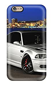 Ideal Oilpaintingcase88 Cases Covers For Iphone 6(bmw E46 M3 Silver Front Angle), Protective Stylish Cases