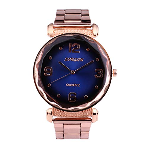 Europe and The United States End Fashion Ladies Watch Steel Strap Watch Watches for Women Simple Under 5 ❤ Best Gifts for Lovers ()
