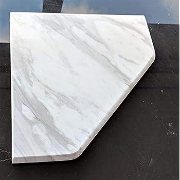 Amazon Com Premium Marble Corner Shelf Shower Soap Dish
