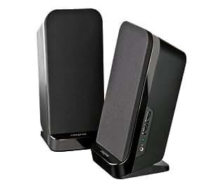 Creative Labs A80 - Altavoces (Mesa/estante, PC, 90 - 20000 Hz, Negro)