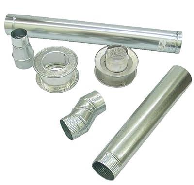 Mr. Heater 4 Inch Horizontal Vent Kit for Big Maxx MHU45LP, MHU45NG, MHU75LP and MHU75NG Unit Heaters #F102845