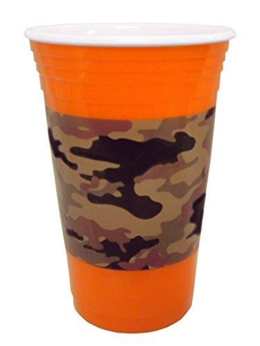 Spoontiques 18116 Camo Party Cup product image