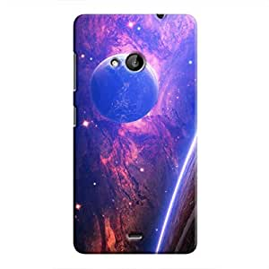 Cover It Up - Bright Planet View Lumia 535 Hard Case