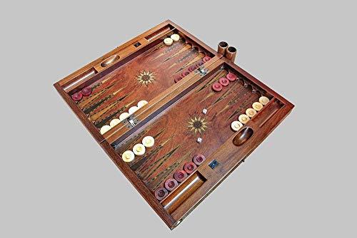 Helena wood art Concorde Backgammon Set | Rosewood