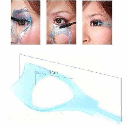 Big Bargain 3in1 Mascara Applikator Leitfaden Werkzeug Wimper Kamm Makeup