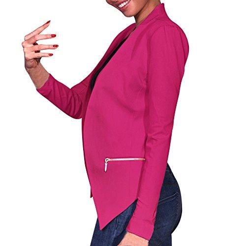 Hot Pink Jacket - 4