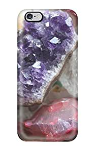 Iphone 6 Plus Crystals Quartz Minerals Rocks Geology Nature Other Print High Quality Tpu Gel Frame Case Cover