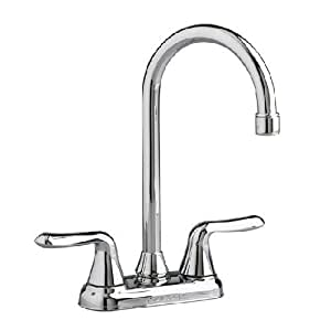 American Standard Cadet 2 Handle Bar Faucet In Polished Chrome