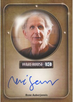 warehouse-13-season-3-autograph-card-rene-auberjonois-as-hugo-miller