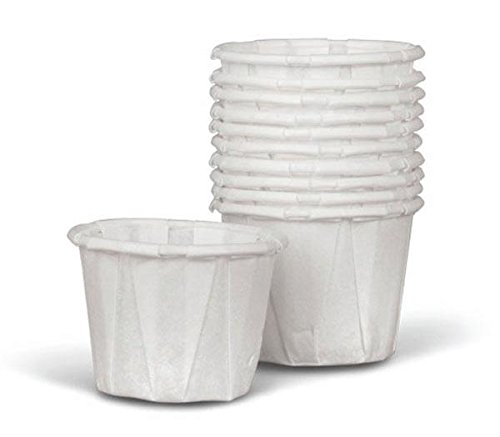 Medline NON024220 Disposable Paper Souffle Cup, 1 oz (Pack of 5000)