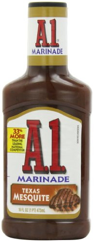 Mesquite Marinade - A.1. Texas Mesquite Marinade (16 oz Bottle, Pack of 6)