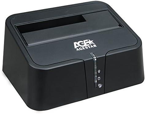 agestar USB 3.0 externo estación de disco duro para 2,5/3,5 ...