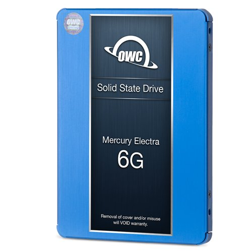 OWC SSD Upgrade Bundle For 2011 iMacs, OWC Mercury Electra 500GB 6G SSD, AdaptaDrive 2.5'' to 3.5'' Drive Converter Bracket, In-line Digital Thermal Sensor Cable, Installation tools by OWC