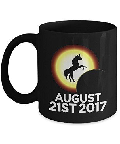 Shirt White America's Magical Solar Eclipse August 2017 Coffee Mug 11oz Black