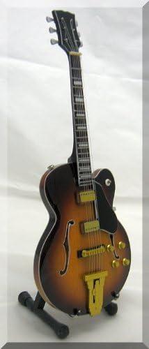 GEORGE BENSON Miniatura Guitarra L5 JAZZ: Amazon.es: Instrumentos ...