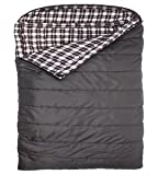 Sports Fahrenheit Mammoth 0F Queen Size Sleeping Bag, Grey
