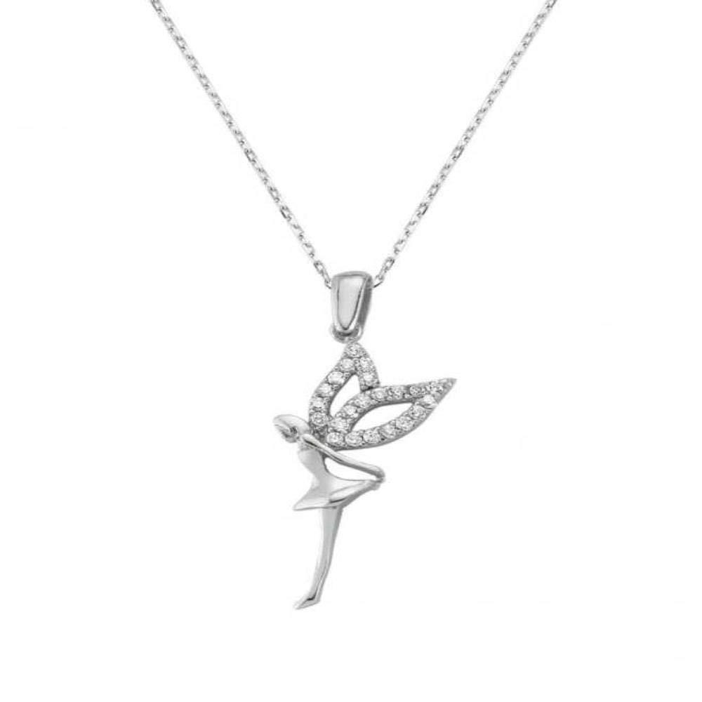Anniversary or Birthday Gift KOKANA Angle Necklaces for Women and Girls