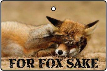 fox air freshener - 3