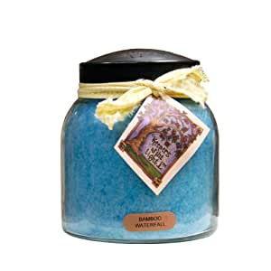 A Cheerful Giver Bamboo Waterfall Papa Jar Candle, 34-Ounce