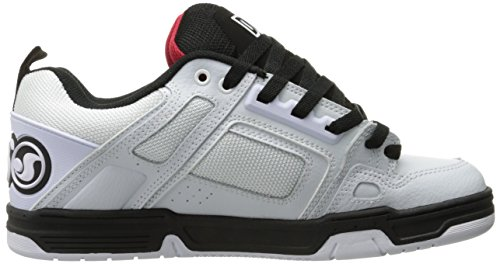 DVS Shoes Herren Comanche Sneaker Weiß (White Black Red)