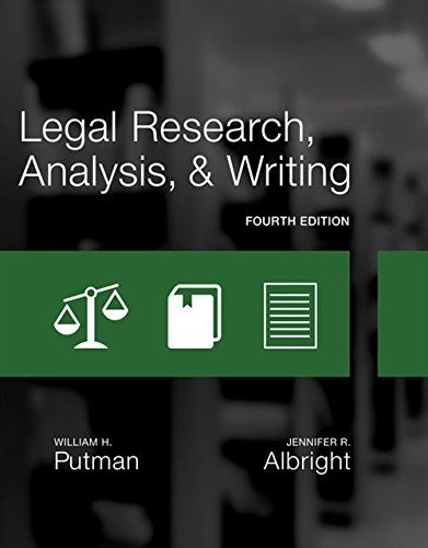 Legal Research, Analysis, and Writing by Cengage Learning