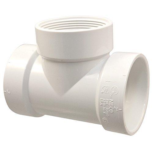 NIBCO 4811-14-V Test Tee H x H x FIPT - PVC DWV, 3