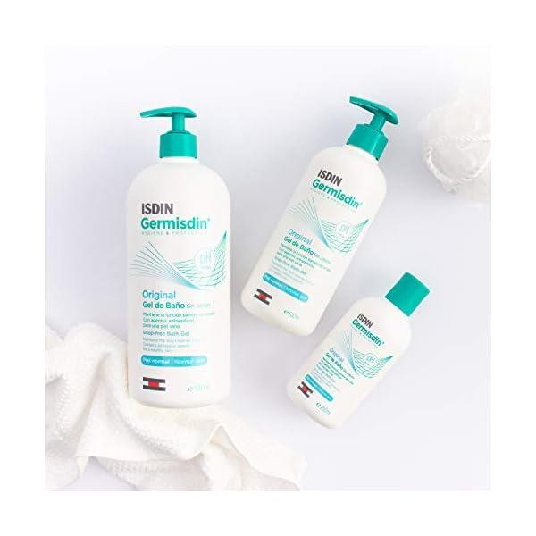 ISDIN Germisdin Original Higiene corporal y manos, gel de baño formulado con agentes antisépticos, 1000 ml 10