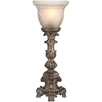 Duval French Crystal Candlestick Table Lamp Amazon Com