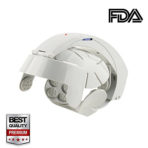 Zinnor Electric Head Massager - Neck and Brain Massage Helme