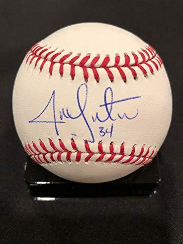 - Jon Lester 16 Ws Cubs 07 13 Red Sox Autographed Signed Official Major League Baseball JSA - Authentic Memorabilia