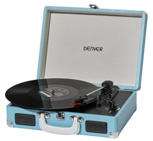 Denver VPL-120BLUE Plattenspieler blau