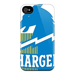 Iphone 4/4s ZAu7921RwGU Allow Personal Design Attractive San Diego Chargers Pattern Excellent Cell-phone Hard Covers -CharlesPoirier