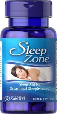 Puritan's Pride Sleep Zone-60 Capsules