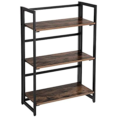 songmics-vintage-bookcase-3-tier