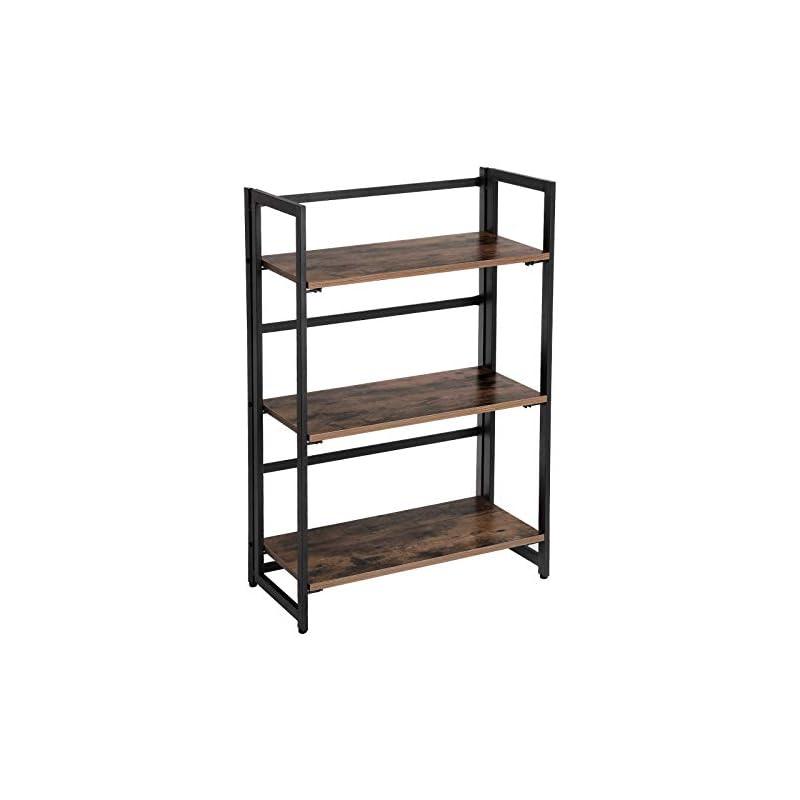 songmics-vintage-bookcase-3-tier