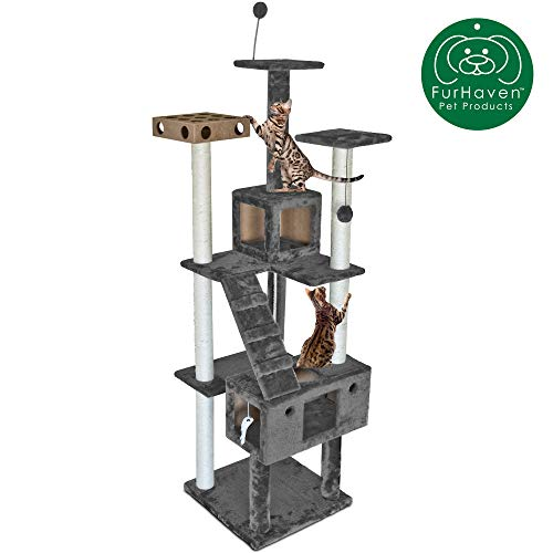 Furhaven Pet Cat Tree is the best Cat Tree? Our review at cattime.com encovers all pros and cons.