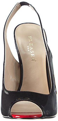posteriore Sexy08 sposa nere con scarpe da Pleaser la donna tacco b col F4d7nx6q