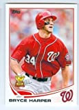 Bryce Harper baseball card (Washington Nationals) 2013 Topps #1 All Star Rookie Cup