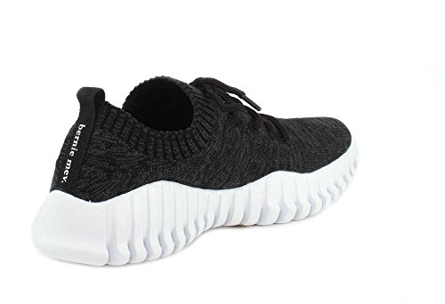 Sneakers Gravity Mev Lace Women's Black up Bernie UAanqWvST6