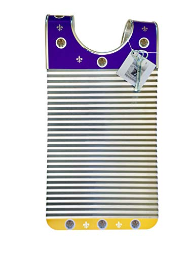 Zydeco Washboard'Purple & Yellow Tiger' Key of Z Rubboards Free Scratchers Frottoir Scrubboard Zydeco Washboard Percussion Instrument Hand Made Louisiana Made By Tee Don Authentic Original