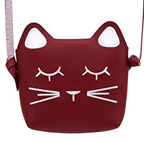 Sac Mignons Sac Deep Messenger Sac Enfants Lady Mode coloré Rose Taille Chat Mini Red Princesse zOwqXO5