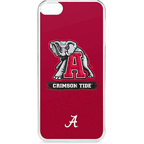 Skinit LeNu MP3 Player Case for iPod Touch 6th Gen - Officially Licensed College Alabama Crimson Tide Red Logo Design (Alabama Ipod Touch Case)