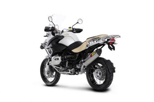 - 10-12 BMW R1200GS: Akrapovic Slip-On Exhaust (Homologated/Titanium)
