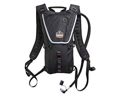 Ergodyne Chill-Its 5156 Premium Low Profile Hydration Pack, 3 Liter, Black