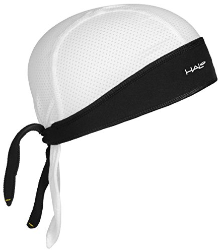 Halo Headband Sweatband Protex White (Athletic Bandana)