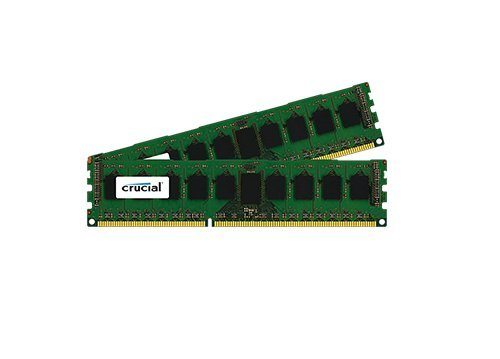 Crucial 16GB Kit (2x8GB) DDR3-1866 (PC3-14900) ECC UDIMM Memory For Mac Pro Systems (Late 2013) CT2K8G3W186DM / (Ddr3 16gb Udimm)