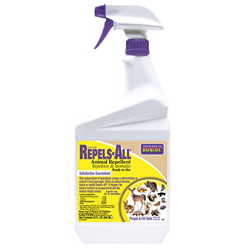 Rtu Deer - Bonide 238 1-Quart Shot-Gun Repels-All Animal Repellent Ready To Use